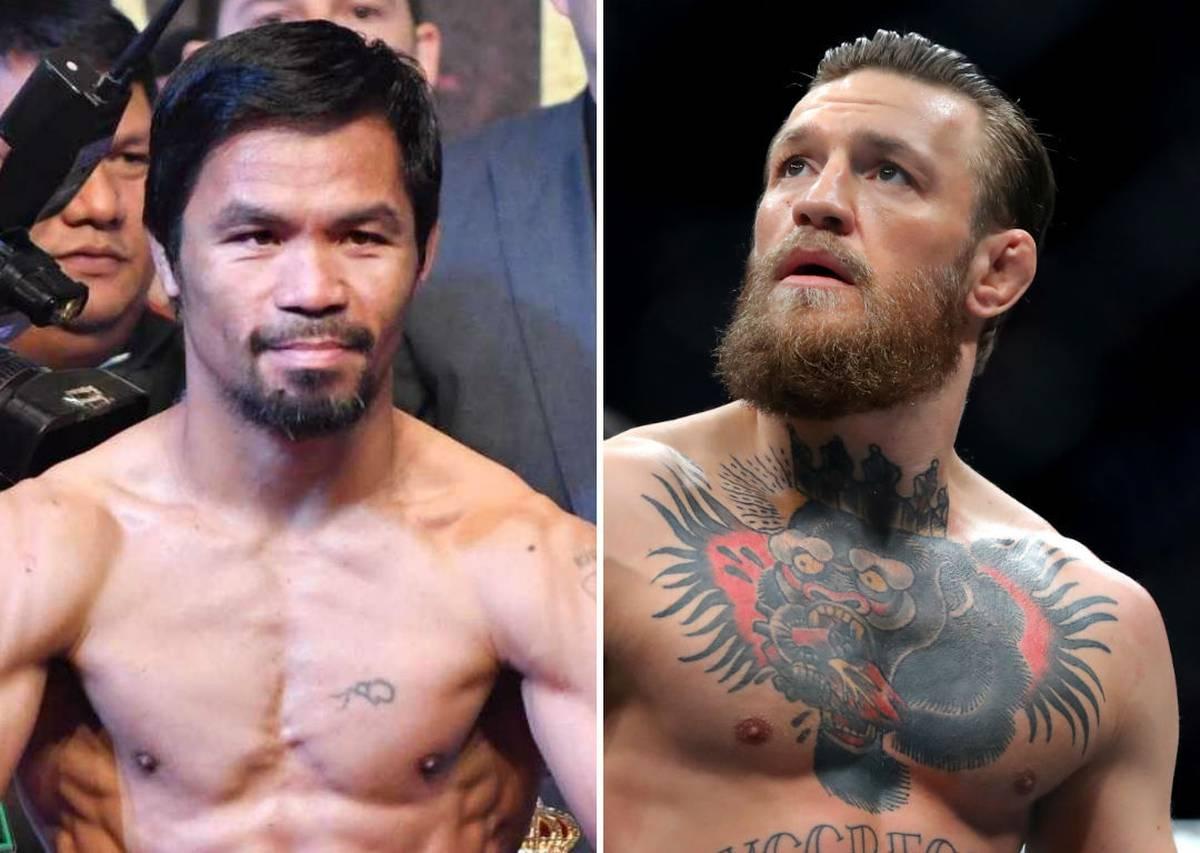 Conor McGregor-Manny Pacquiao fight a step closer