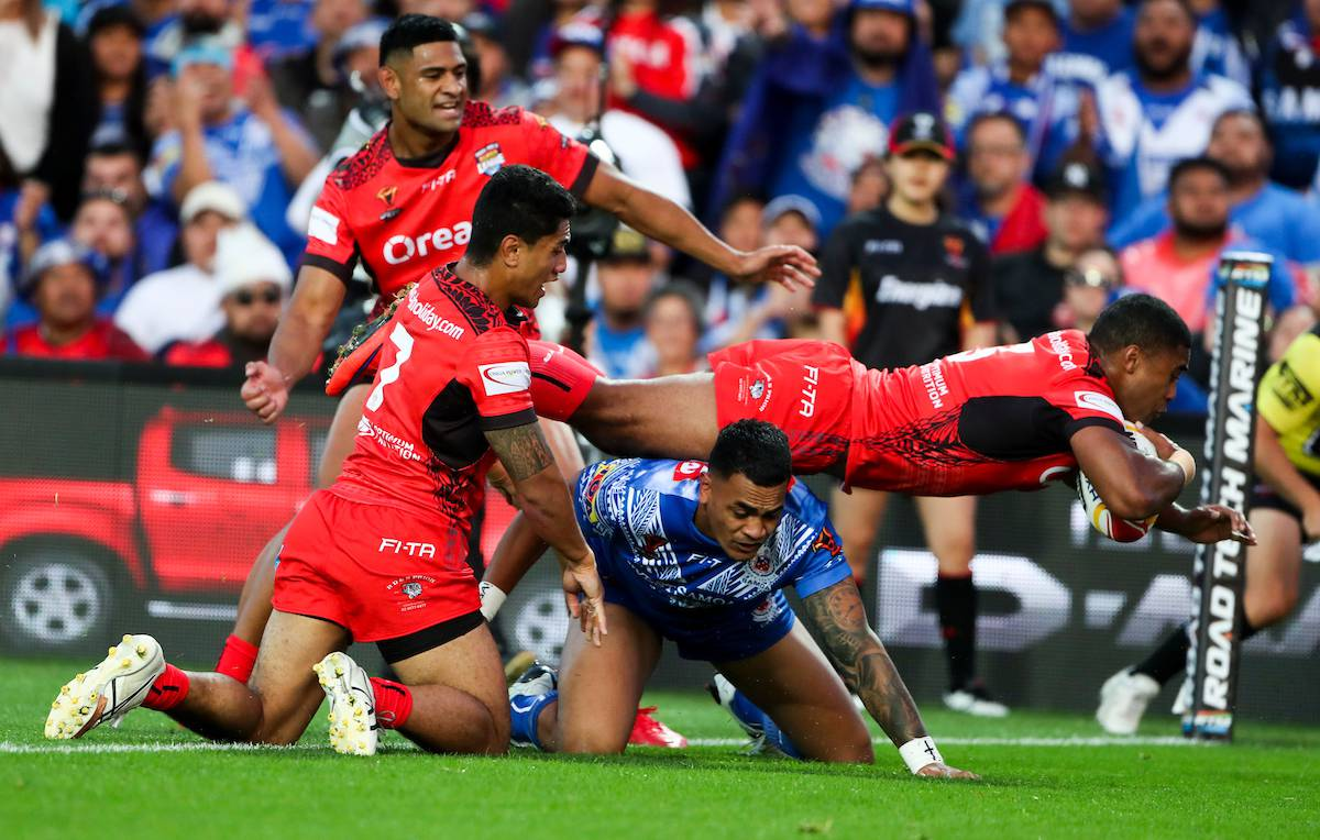 Nz Herald: League: Tonga Take Down Samoa At Rugby League World Cup