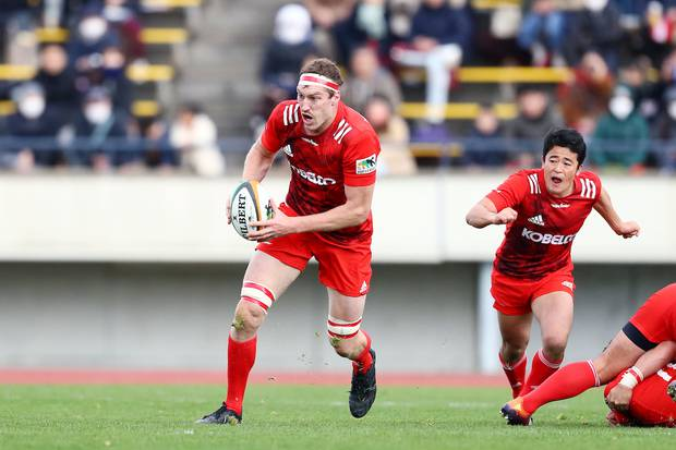 Brodie Retallick has been playing in Japan. Photo / Photosport