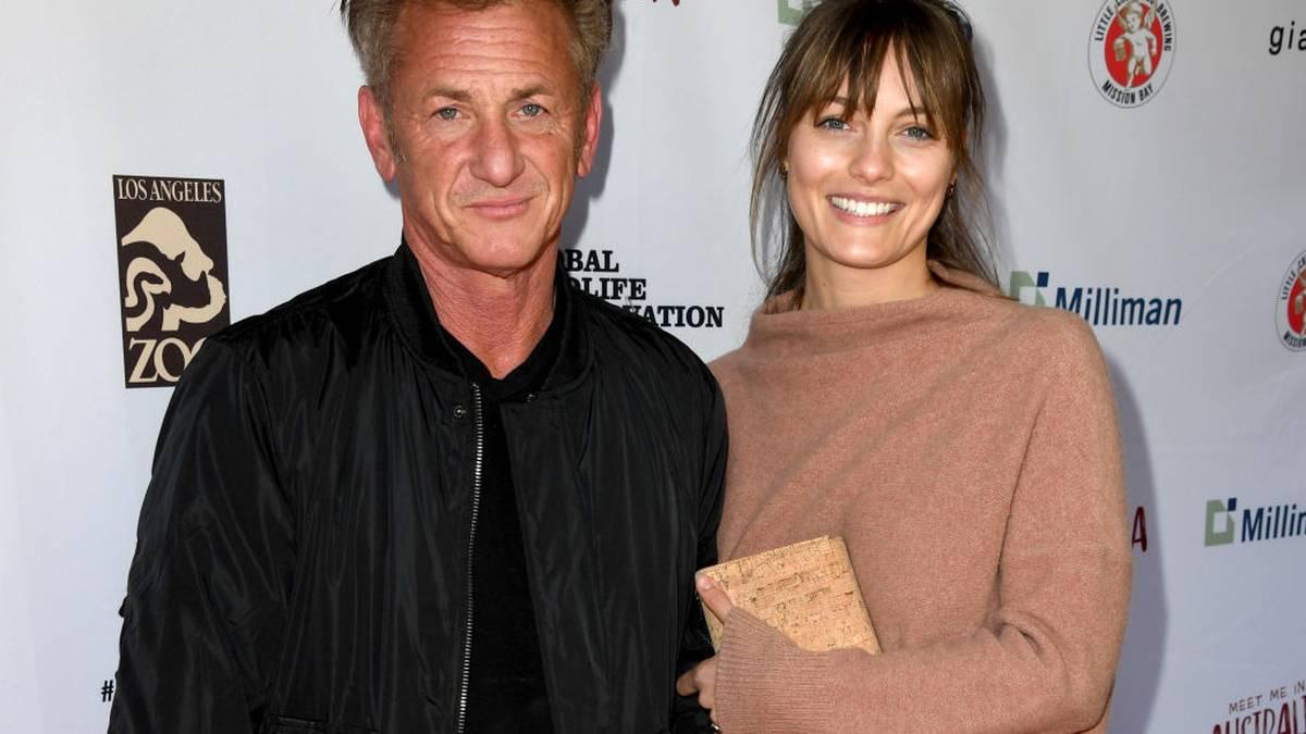Leila and george penn sean Sean Penn,