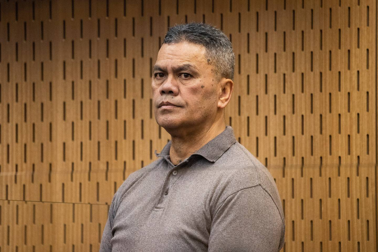 Juan Marsh in the dock in the High Court at Christchurch. Photo / George Heard
