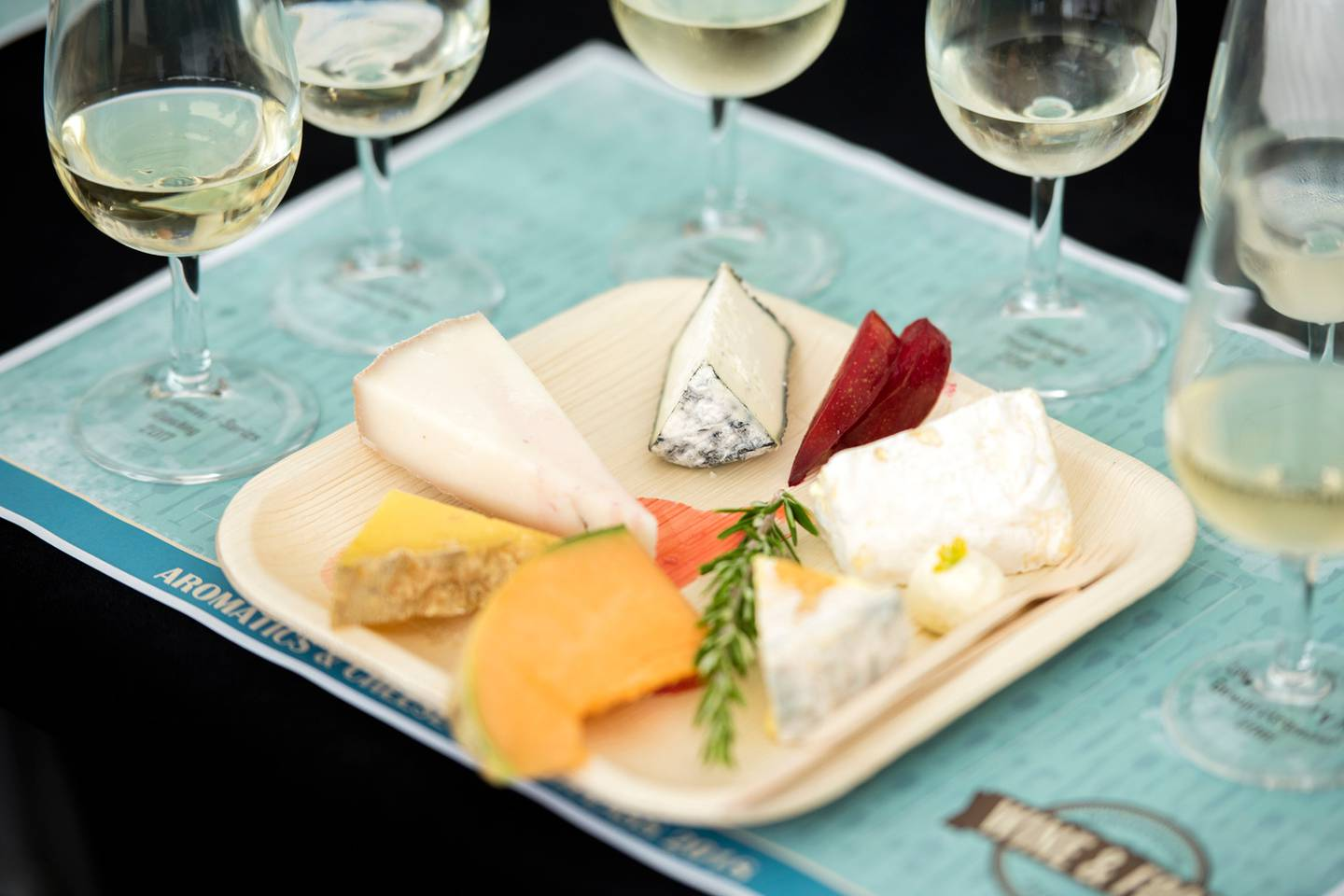 Wine and cheese pairings are among the many tastes you can try at the Marlborough Food and Wine Festival. Photo / Richard Briggs, Supplied