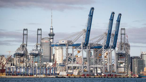 The location of Ports of Auckland has prompted public debate about whether there are better alternative uses for the prime waterfront land. Photo / Jason Oxenham