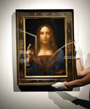 Leonardo da Vinci's Salvator Mundi for US$450 million last year. Photo/Ap