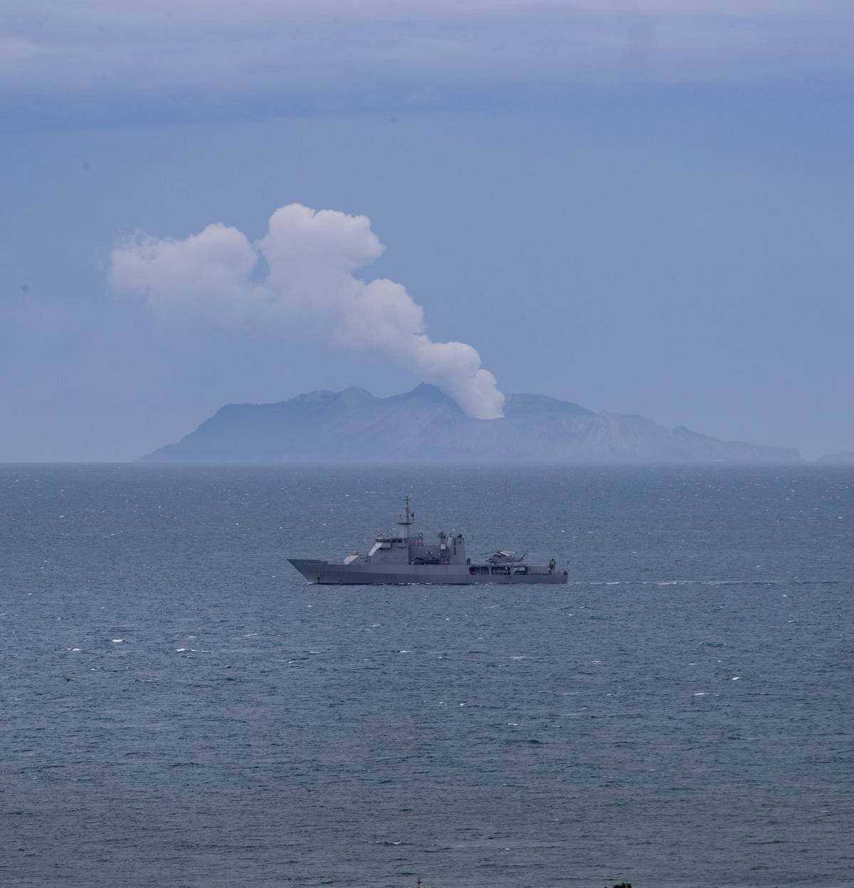 White Island eruption: Seven bodies seen and one unaccounted for