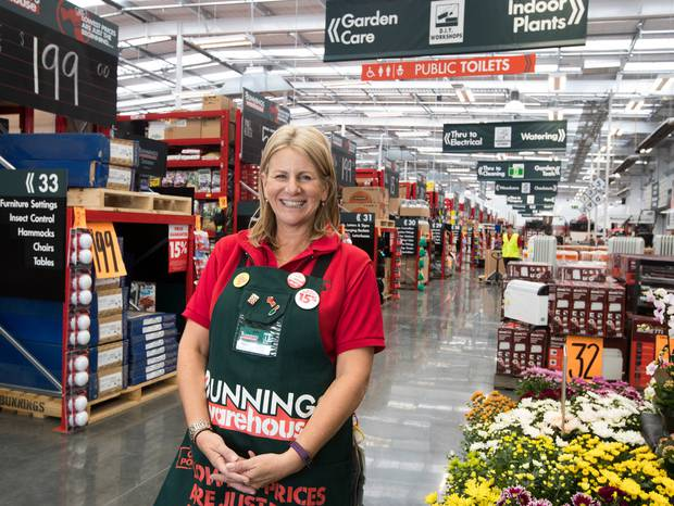 Jacqui Coombes of Bunnings NZ. Photo / Brett Phibbs