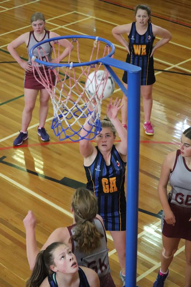 Netball was one of several sports competed in at the annual Nga Tawa Quadrangular tournament against St Matthew's Collegiate, Woodford House and Iona College.