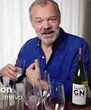 UK comedian Graham Norton does some solo blending in an Invivo Wines 2017 winemaking video, newly released on social media. Photo / Video.