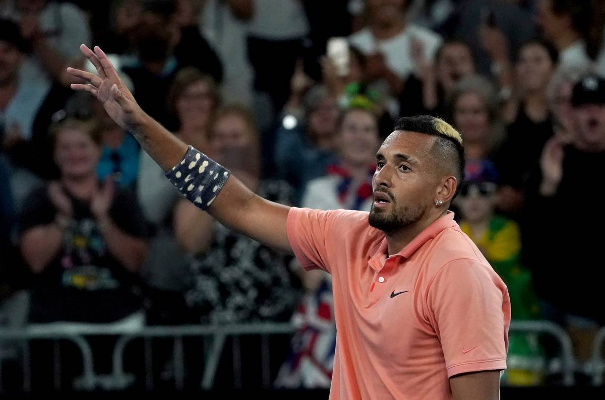 Epic Nick Kyrgios Victory Sets Up Mouth Watering Clash With Rafael Nadal Nz Herald