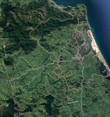 Man dead after swimming at Mangawhai Heads, north of Auckland - NZ Dead Man On Google Maps on