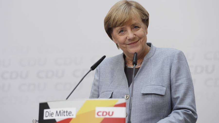 Re-elected German Chancellor Merkel concerned about far-right in Parliament