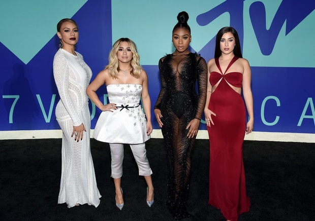 Dinah Jane, Ally Brooke, Normani Kordei, and Lauren Jauregui of Fifth Harmony. Photo / Getty