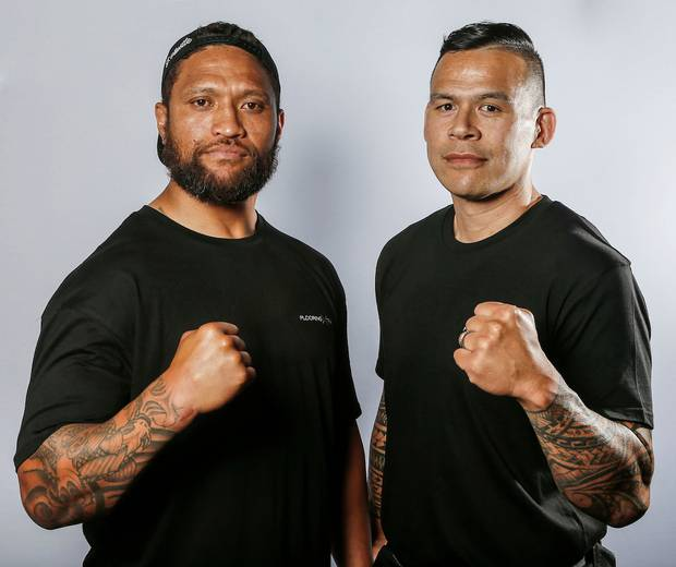 Manu Vatuvei will take on David Letele tomorrow. Photo / Photosport