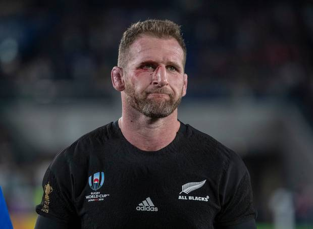 All Blacks captain Kieran Read after losing to England in the Rugby World Cup semifinal. Photo / Mark Mitchell