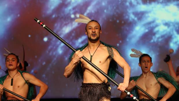 Kahurangi Māori Dance Theatre, pictured at last year's Waiata Māori Music Awards in Hawke's Bay. Photo / File