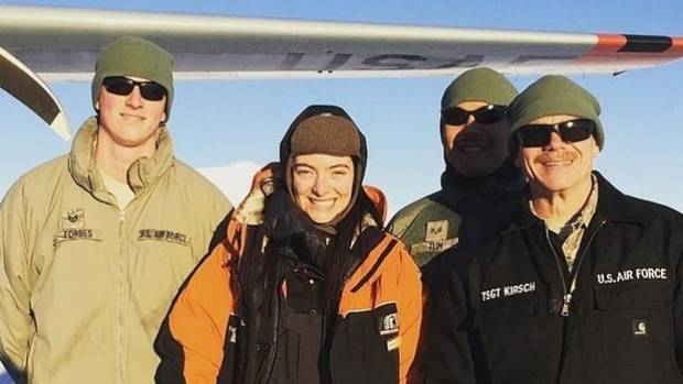 She hasn't been on social media for months, but Lorde has been spotted paying a visit to one of the most remote parts of the world in the name of environmental science. Photo / Instagram