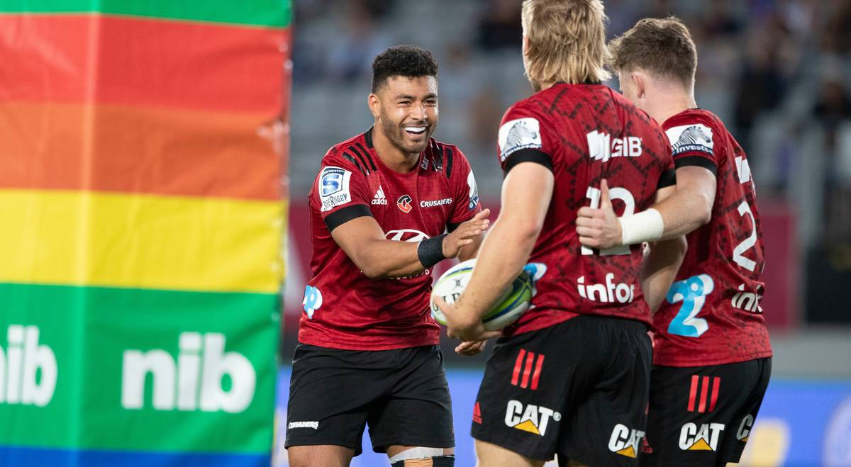Super Rugby: 'Bloody easy' - How Crusaders first-five Richie Mo'unga dismantled the Blues for fun