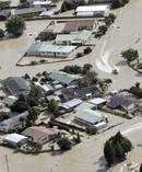Flooding in Edgecumbe in April. Photo / File