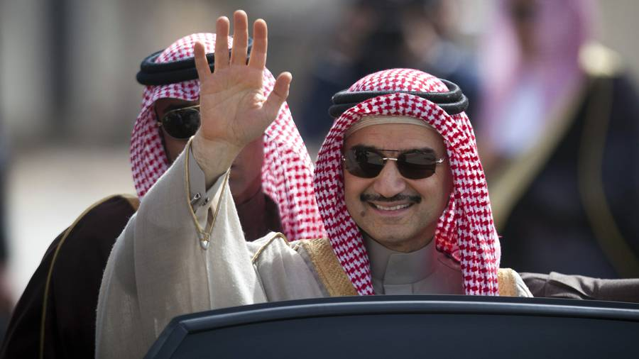 Saudi billionnaire Alwaleed freed from detention
