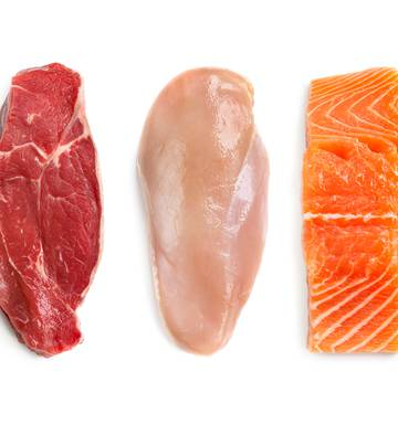 From fish to bacon: A ranking of meats in order of