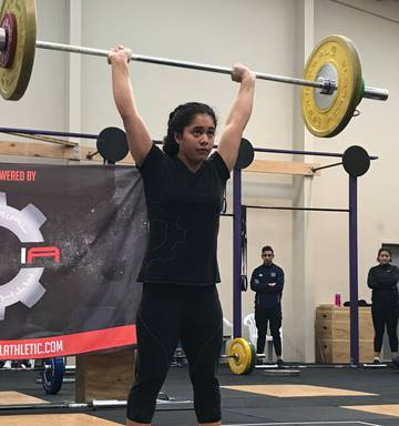 Rayner eyes national weightlifting records at Oceania - NZ