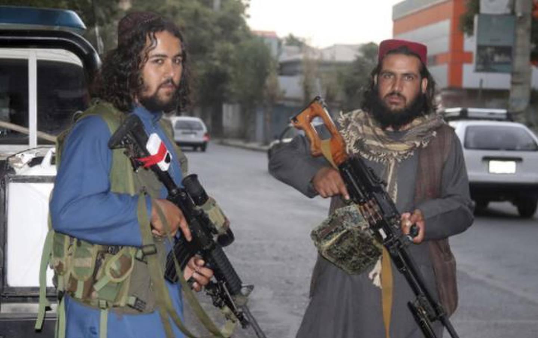 Taliban fighters patrol in Kabul, Afghanistan. Photo / AP