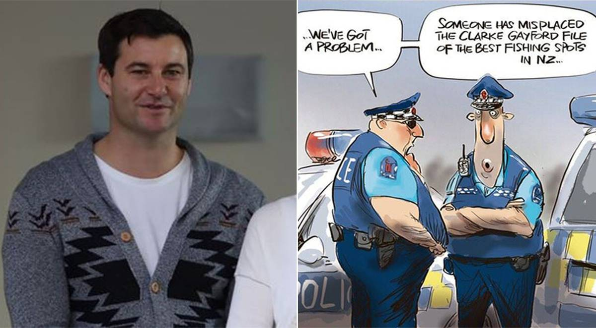 'I panicked': Clarke Gayford's hilarious run-in with police