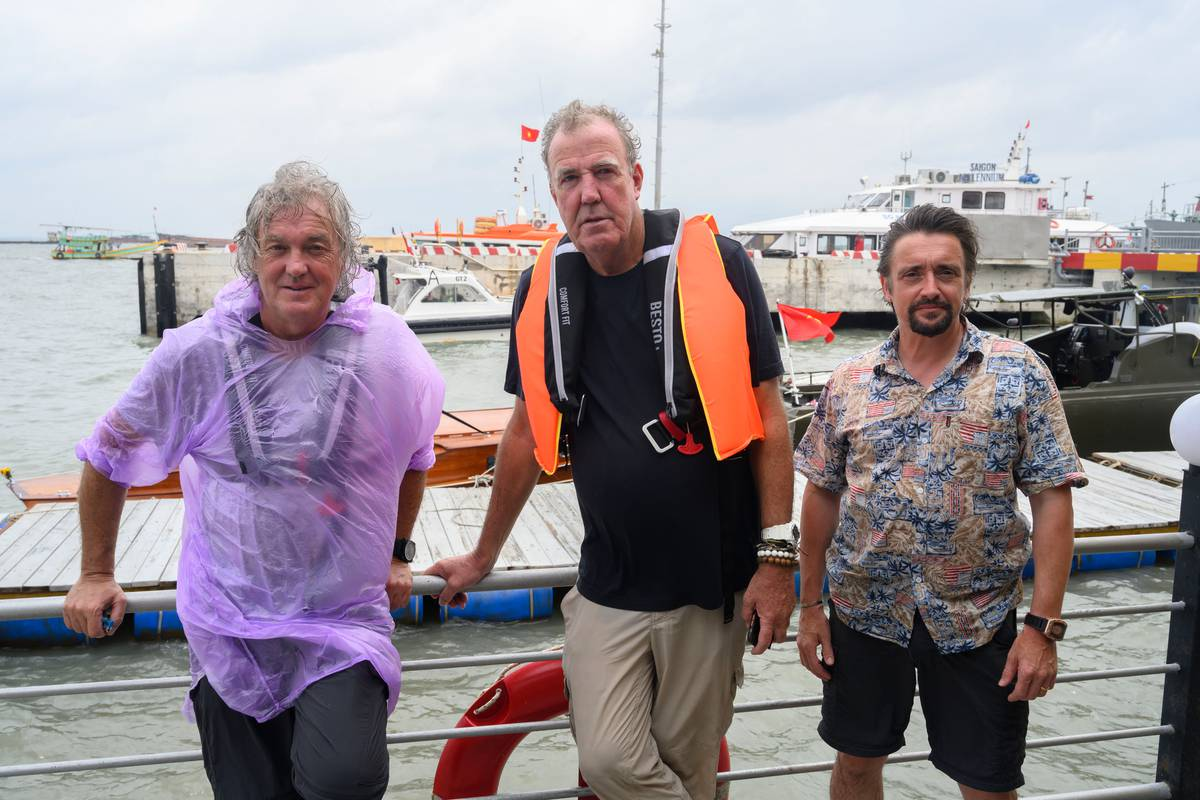 Grand tour or apocalypse now?: Clarkson, Hammond and May confront climate change