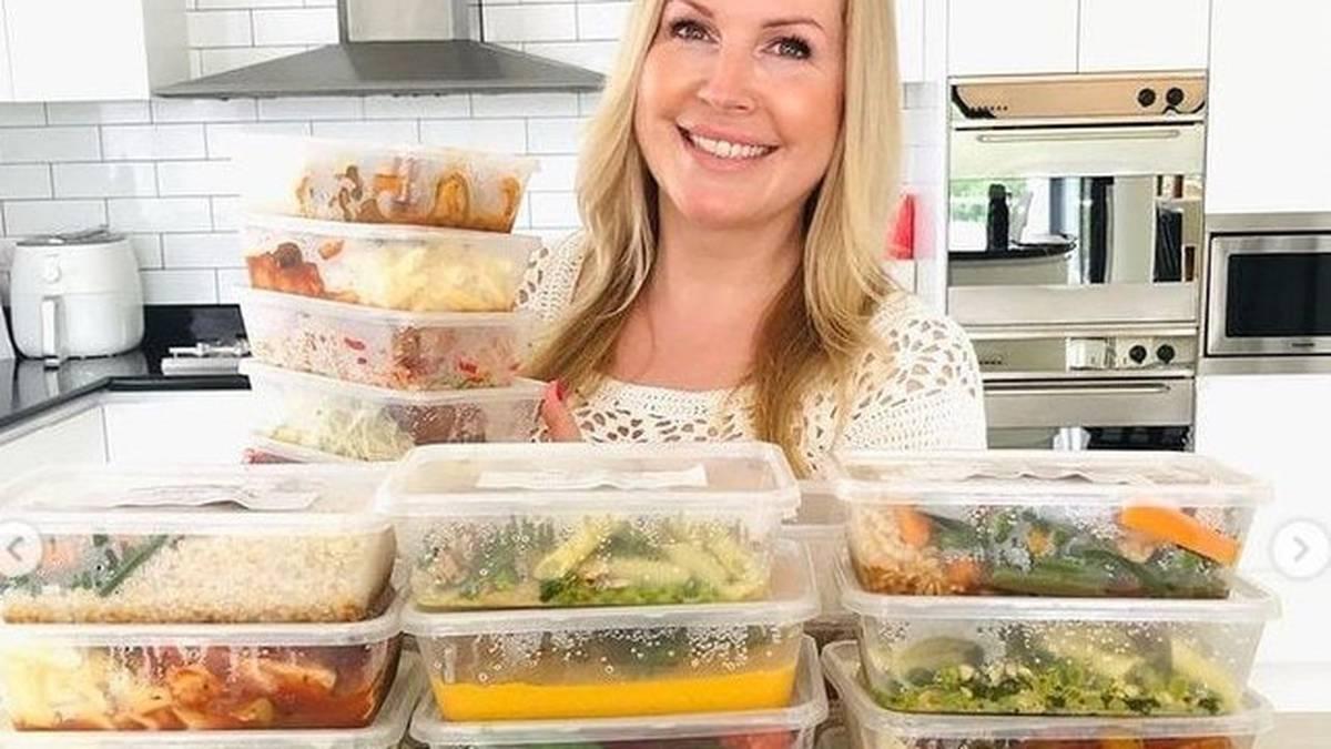 Madre australiana y fundadora de The Healthy Mummy hace 57 comidas por $ 146