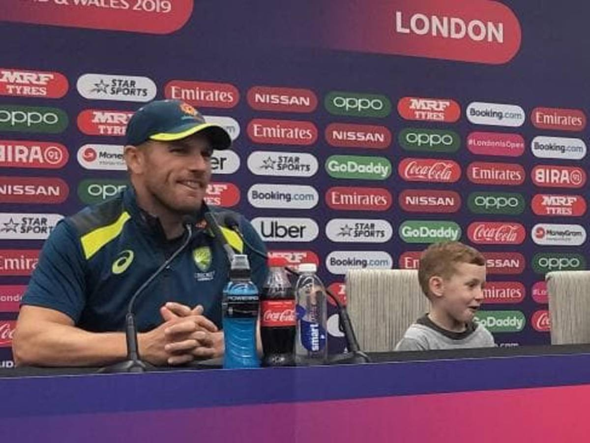 While you were sleeping: 10 year old's brilliant sledge for Aussie captain