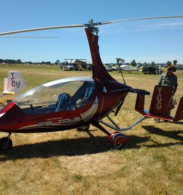 Gyrocopter get-together in Whanganui - NZ Herald