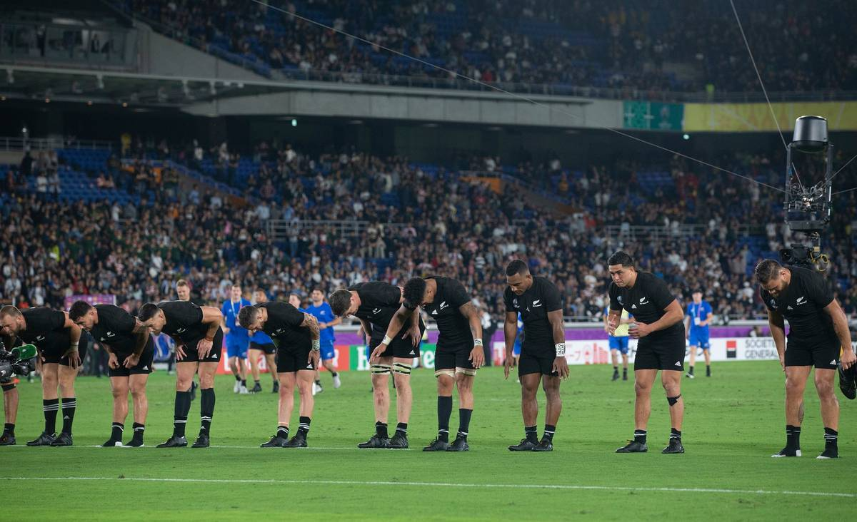 2019 Rugby World Cup: All Blacks' classy show of respect after victory against Springboks