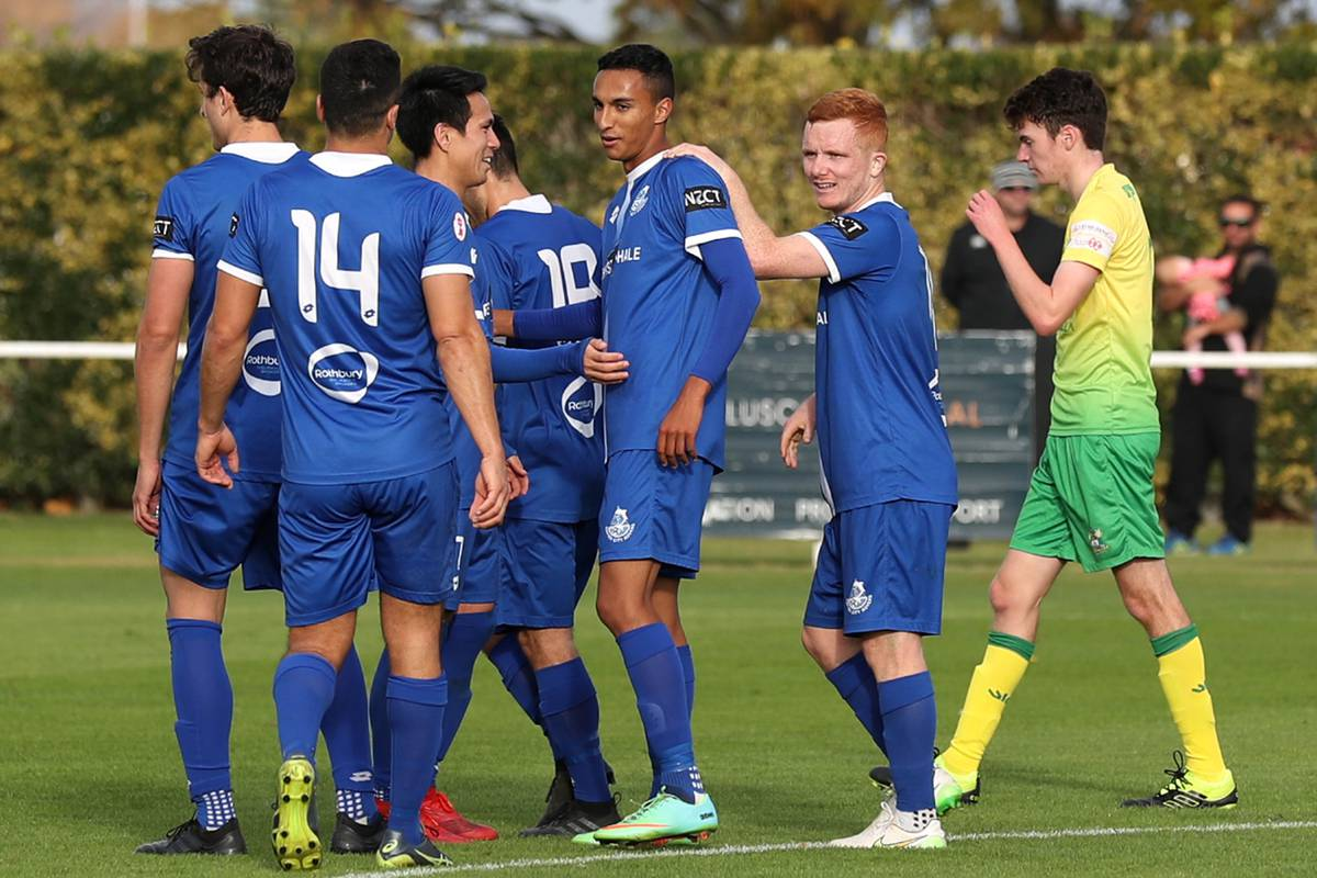 Football: Napier City Rovers use Lower Hutt City for target practice in Central League whipping