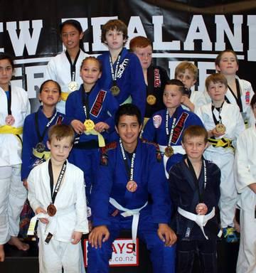 Jiu Jitsu kids haul in medals - NZ Herald