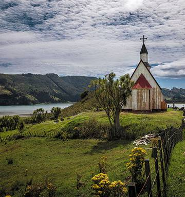Photo essay: Inside New Zealand's most spectacular churches