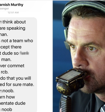 Image result for simon doull death threat