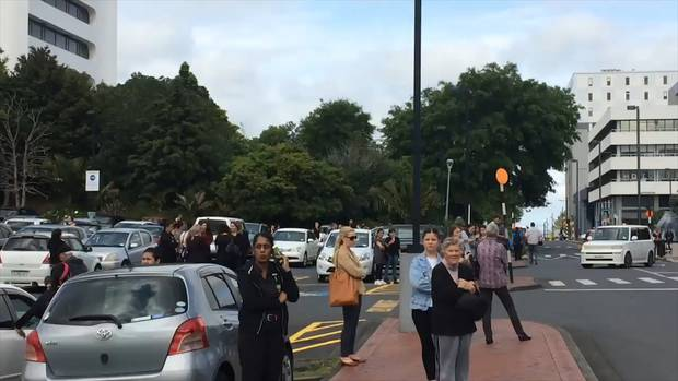 People have been evacuated from the mall. Photo / Supplied