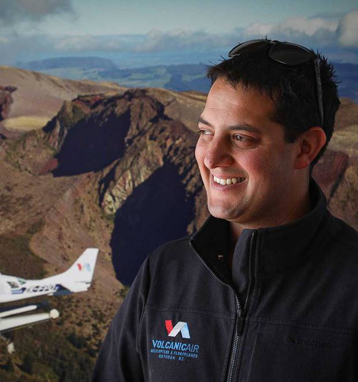 Volcanic Air and general manager Steven Newland