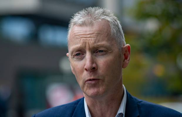 Police Association president Chris Cahill says new gun laws need to close loopholes which can be exploited. Photo / Mark Mitchell.