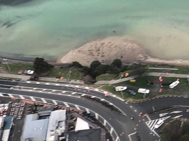 Between 70 and 80 per cent of Taupō's wastewater poured into Lake Taupō. Photo / Helicopter Services