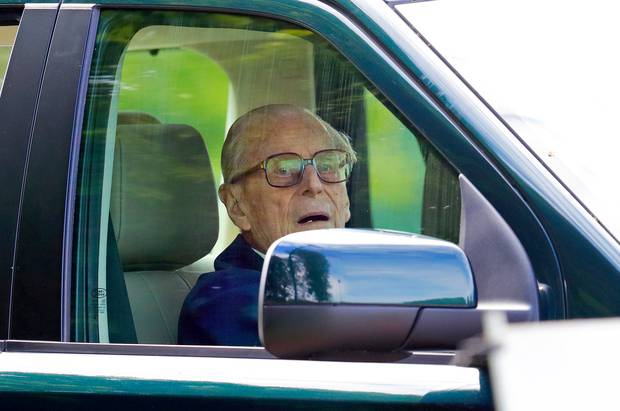 Prince Philip gave up his driver's licence voluntarily following February's car crash. Photo / Getty Images