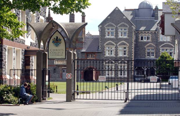 Christ's College, one of New Zealand's oldest boys' schools, has sought guidance from the Qtopia, an organisation which supports rainbow young people in Christchurch. Photo / NZPA