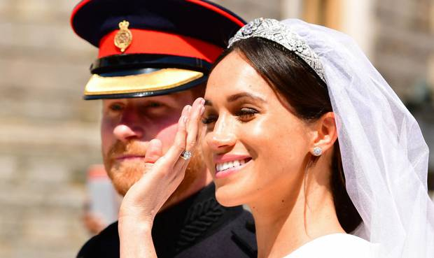 The post was shared on a far-right social media platform last year, a few months after the duke married Meghan Markle. Photo / Getty Images