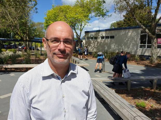 Glendowie College principal Richard Dykes. Photo / RNZ / John Gerritsen