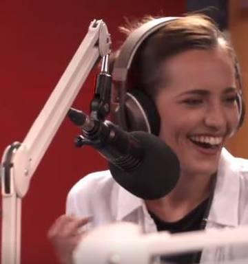 Actress drops C-bomb on live radio - NZ Herald