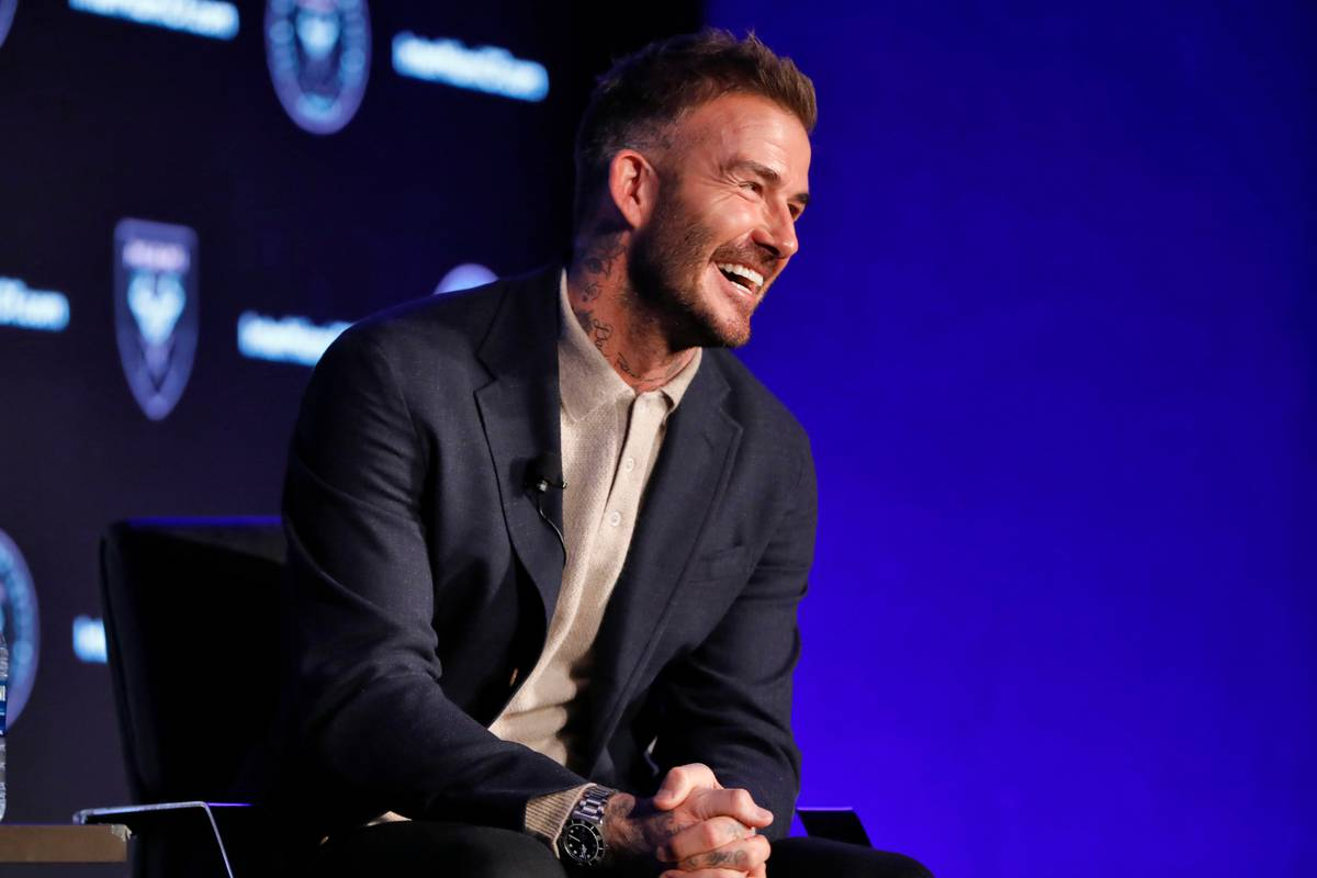 David Beckham says he's 'proud' of Prince Harry for 'growing up'