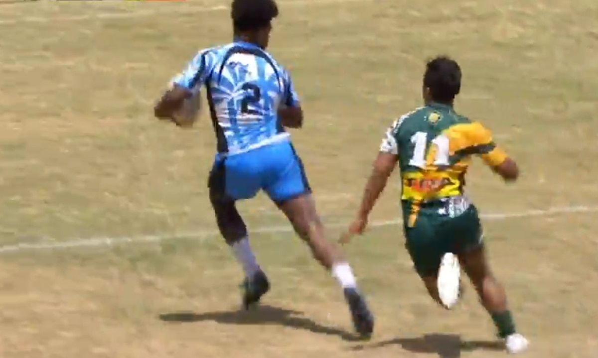 Rugby: New Zealand Fijians player scores magical try at World Condor Sevens