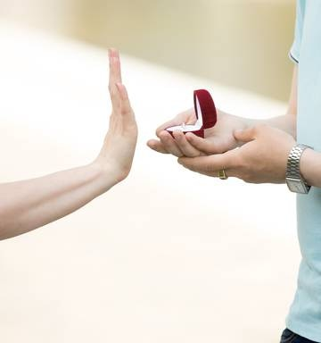 The shocking reasons why women reject marriage proposals