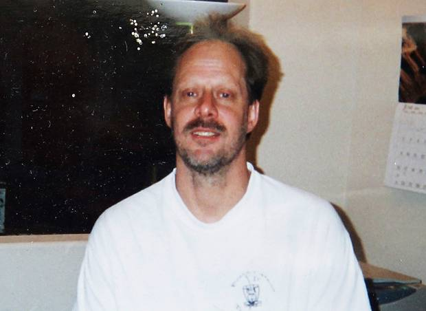 Las Vegas mass shooter Stephen Paddock. Photo / AP