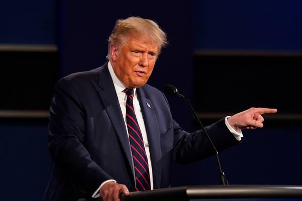 President Donald Trump is experiencing 'mild symptoms' of coronavirus, according to his doctor. Photo / AP